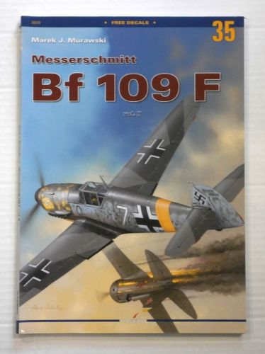 CHEAP BOOKS  ZB882 MONOGRAPHS 35 MESSERSCHMITT Bf 109 F VOL II  NO DECALS