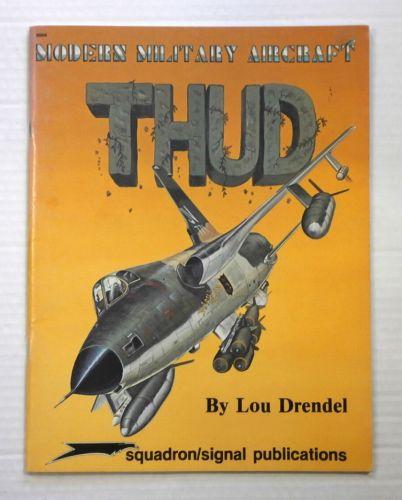 CHEAP BOOKS  ZB888 SQUADRON/SIGNAL 5004 MODERN MILITARY AIRCRAFT THUD