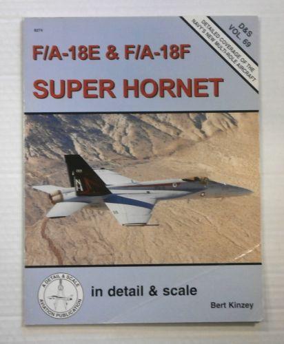 CHEAP BOOKS  ZB894 DETAIL   SCALE VOL.69 F/A-18E   F/A-18F SUPER HORNET