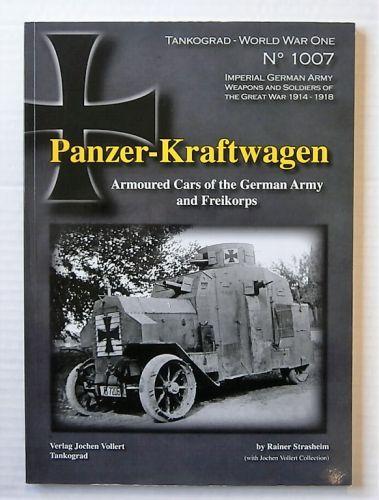 CHEAP BOOKS  ZB2183 TANKOGRAD WORLD WAR ONE No 1007 - PANZER-KRAFTWAGEN