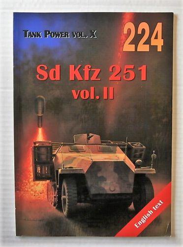 CHEAP BOOKS  ZB2184 TANK POWER VOL X - Sd Kfx 251 vol II