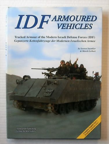 CHEAP BOOKS  ZB2186 IDF ARMOURED VEHICLES - TRACKED ARMOUR OF THE MODERN ISRAELI DEFENSE FORCES  IDF