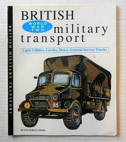 CHEAP BOOKS  ZB2198 WORLD WAR TWO BRITISH MILITARY TRANSPORT