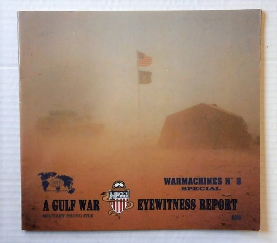 CHEAP BOOKS  ZB2206 WARMACHINES No 8 SPECIAL - A GULF WAR EYE WITNESS REPORT