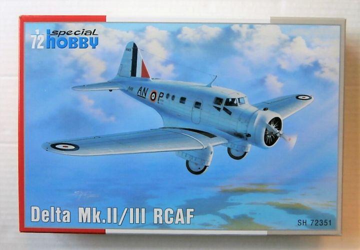 SPECIAL HOBBY 1/72 72351 DELTA MK.II/III RCAF