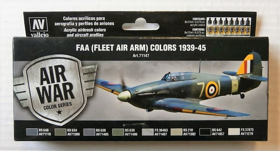 VALLEJO  71147 FAA  FLEET AIR ARM  COLOURS 1939-45