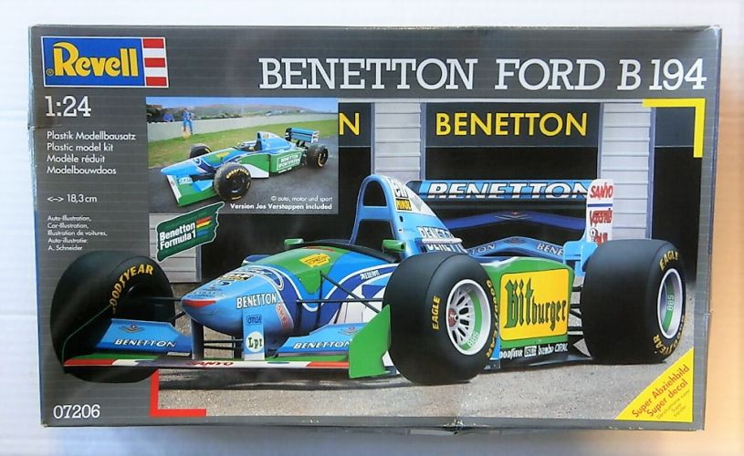 REVELL 1/24 07206 BENETTON FORD B194