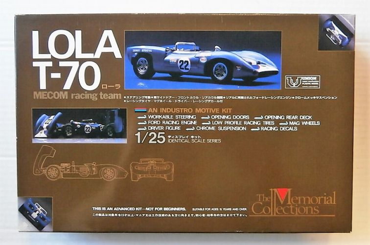 UNION 1/25 MC-06 LOLA T-70 MECOM RACING TEAM