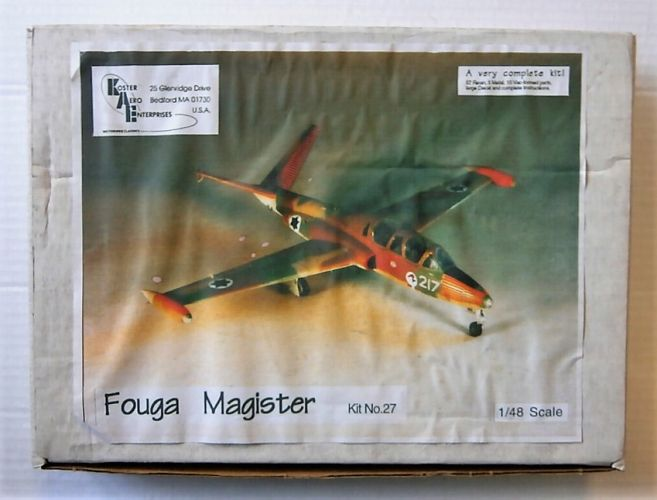 KOSTER AERO ENTERPRISES 1/48 27 FOUGA MAGISTER