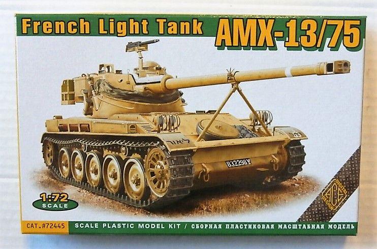 ACE 1/72 72445 AMX-13/75 FRENCH LIGHT TANK