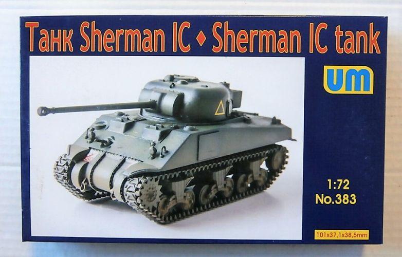 UNIMODEL 1/72 383 SHERMAN IC TANK