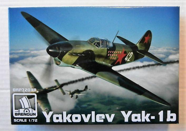 BRENGUN  72038 YAKOVLEV YAK-1B