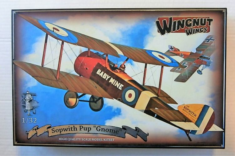 WINGNUT WINGS 1/32 32055 SOPWITH PUP GNOME