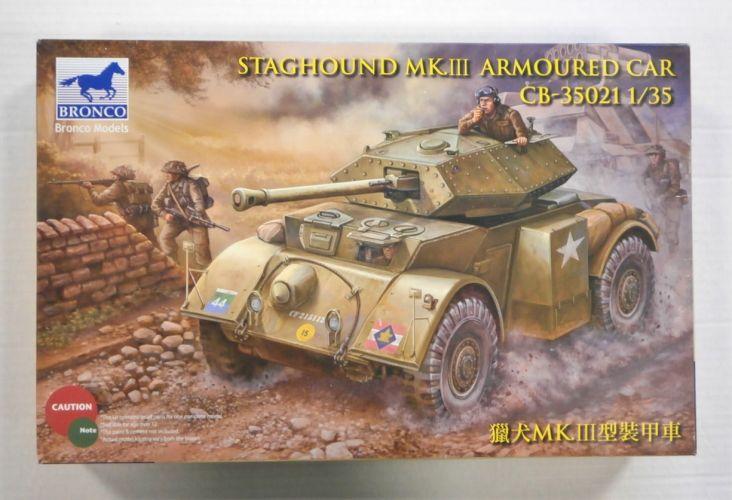 BRONCO 1/35 35021 STAGHOUND MK.III ARMOURED CAR