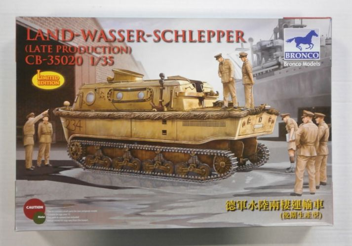 BRONCO 1/35 35020 LAND-WASSER-SCHLEPPER  LATE PRODUCTION