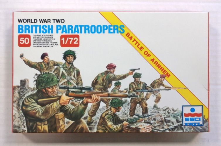 ESCI 1/72 208 BRITISH PARATROOPS RED DEVILS WWII