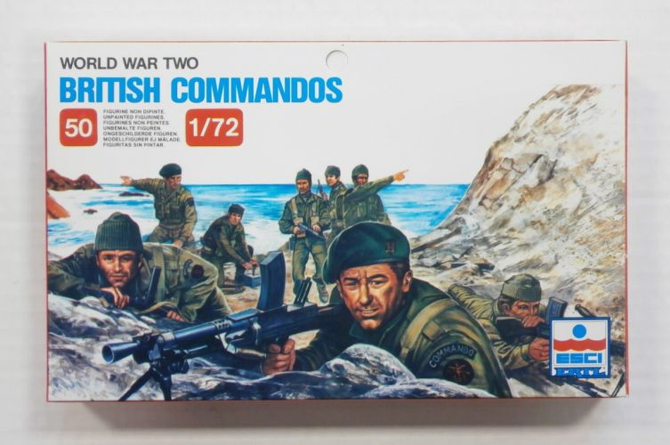 ESCI 1/72 210 WWII BRITISH COMMANDOS