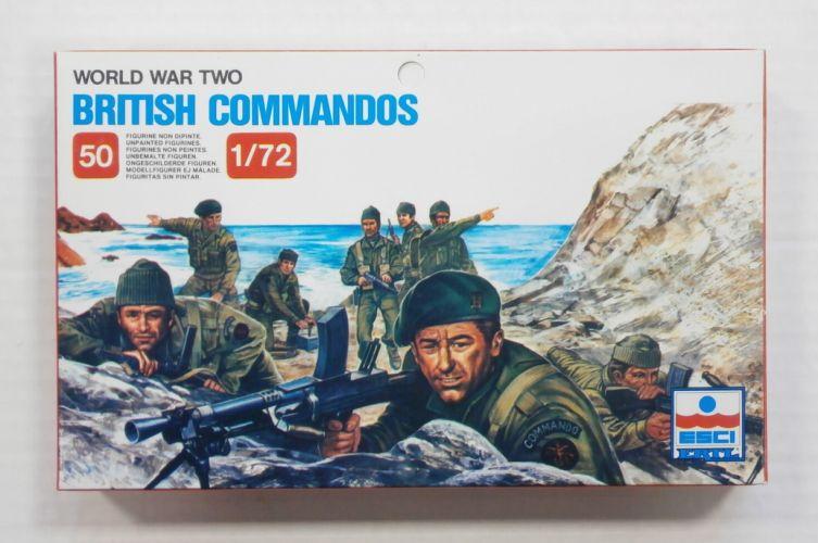 ESCI 1/72 210 WWII BRITISH COMMANDOS