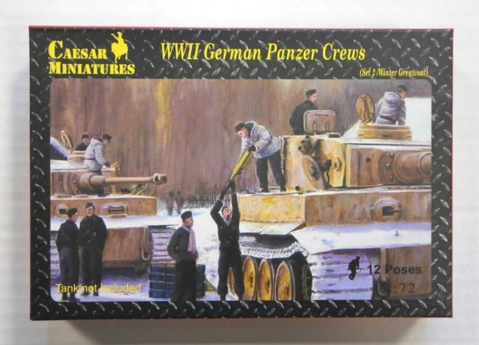 CAESAR MINATURES 1/72 HB05 WWII GERMAN PANZER CREWS