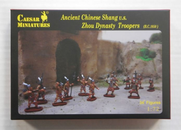 CAESAR MINATURES 1/72 H029 ANCIENT CHINESE SHANG vs ZHOU DYNASTY TROOPERS