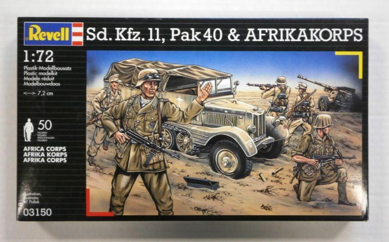 REVELL 1/72 03150 Sd.Kfz II/AFRIKA KORPS