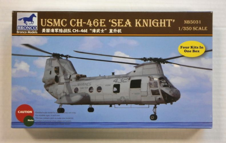 BRONCO 1/350 NB5031 USMC CH-46E SEA KNIGHT