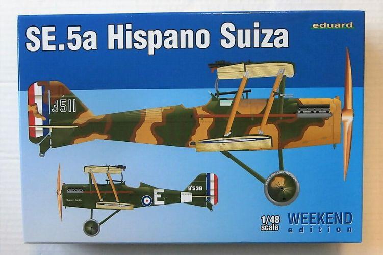 EDUARD 1/48 8453 SE.5A HISPANO SUIZA