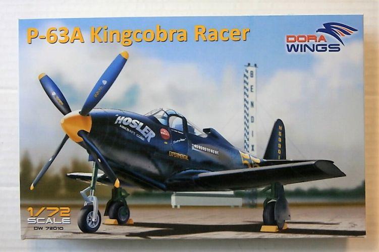 DORA WINGS 1/72 72010 P-63A KINGCOBRA RACER