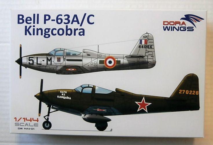 DORA WINGS 1/72 14401 BELL P-63A/C KINGCOBRA