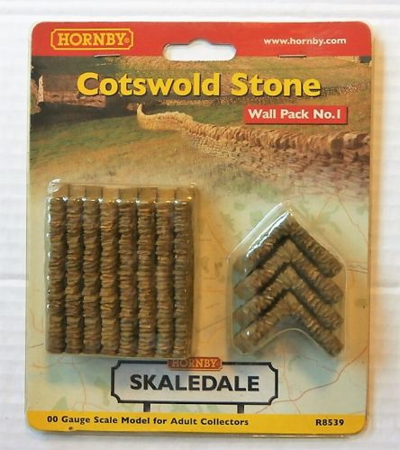 HORNBY OO R8539 COTSWOLD STONE WALL PACK 1