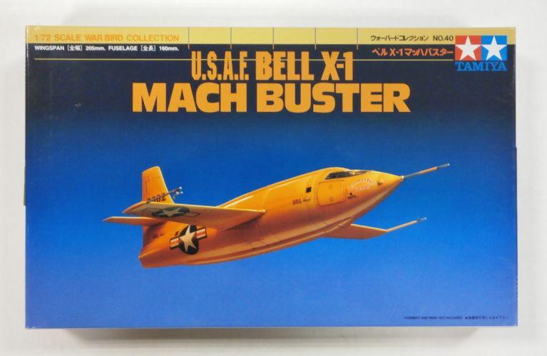 TAMIYA 1/72 60740 USAF BELL X-1 MACH BUSTER