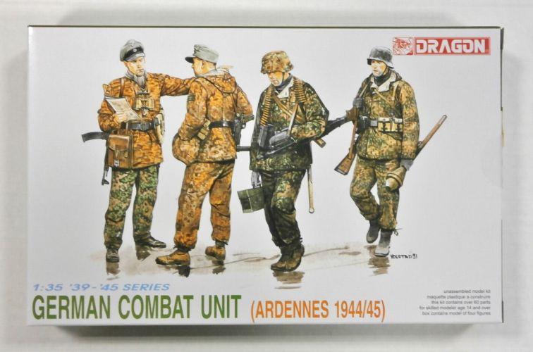 DRAGON 1/35 6002 GERMAN COMBAT UNIT ARDENNES 1944/45