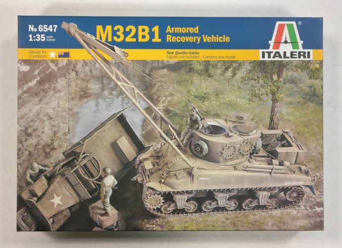 ITALERI 1/35 6547 M32B1 ARMORED RECOVERY VEHICLE
