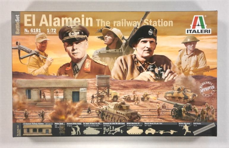 ITALERI 1/72 6181 EL ALAMEIN THE RAILWAY STATION