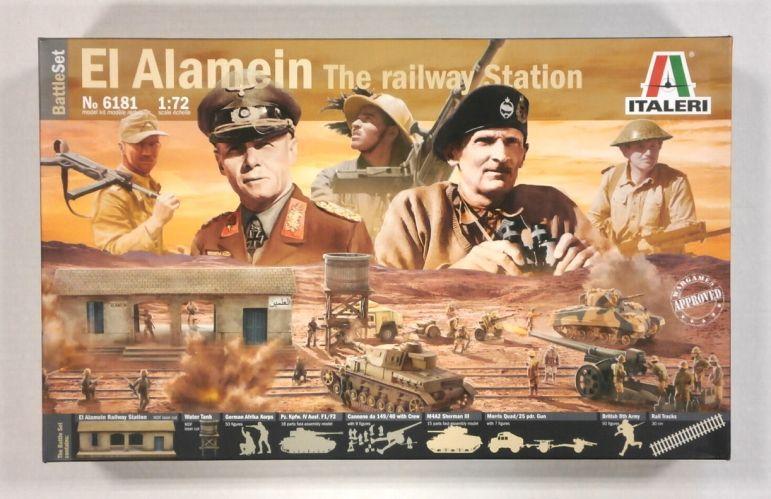 ITALERI 1/72 6181 EL ALAMEIN THE RAILWAY STATION