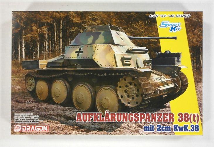 DRAGON 1/35 6890 AUFKLARUNGSPANZER 38 t  mit 2cm KwK.38