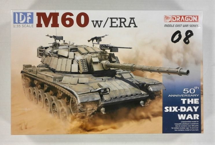 DRAGON 1/35 3581 M60 w/ERA 50th ANNIVERSARY THE SIX-DAY WAR