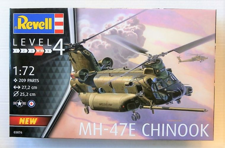REVELL 1/72 03876 MH-47E CHINOOK
