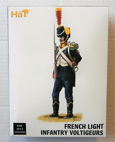 HAT INDUSTRIES 1/32 9302 FRENCH LIGHT INFANTRY VOLTIGEURS