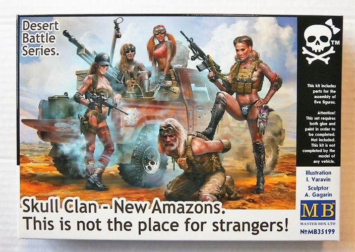 MASTERBOX 1/35 35199 SKULL CLAN - NEW AMAZONS