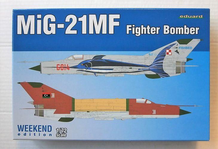 EDUARD 1/72 7451 MiG-21MF FIGHTER BOMBER