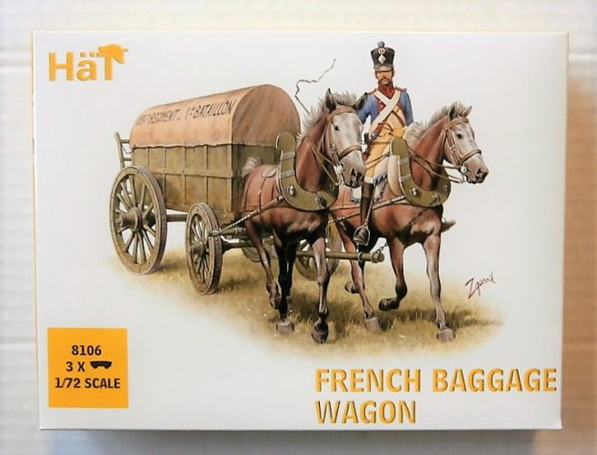 HAT INDUSTRIES 1/72 8106 FRENCH BAGGAGE WAGON