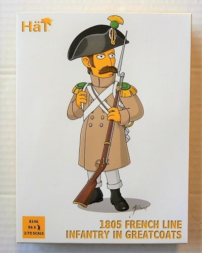 HAT INDUSTRIES 1/72 8146 FRENCH LINE INFANTRY IN GREATCOATS