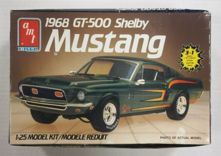 AMT 1/25 6541 1968 GT-500 SHELBY MUSTANG