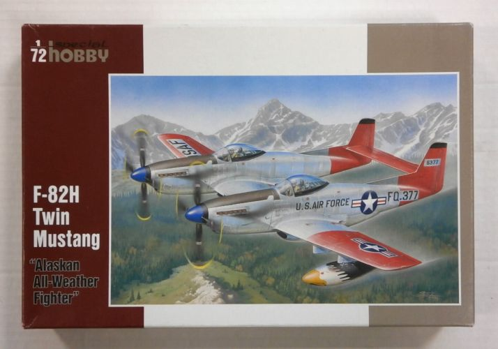 SPECIAL HOBBY 1/72 72203 F-82H TWIN MUSTANG ALASKAN ALL-WEATHER FIGHTER