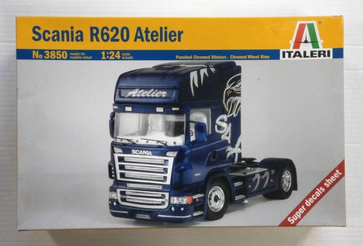 ITALERI 1/24 3850 SCANIA R620 ATELIER