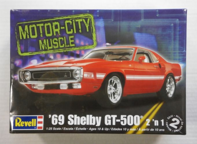 REVELL 1/25 2158 69 SHELBY GT-500