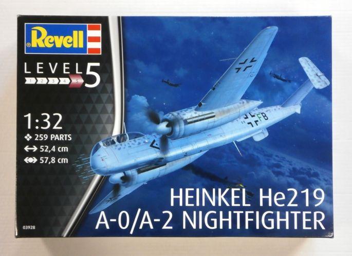 REVELL 1/32 03928 HEINKEL He219 A-0/A-2 NIGHTFIGHTER