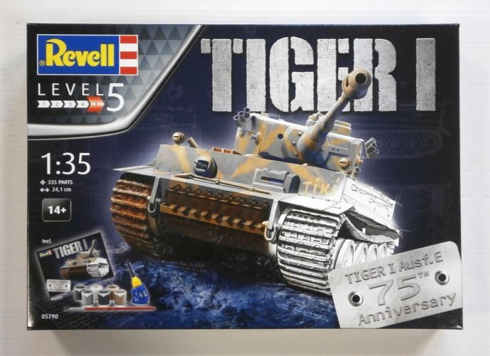 REVELL 1/35 05790 TIGER I Ausf.E 75TH ANNIVERSARY GIFT SET