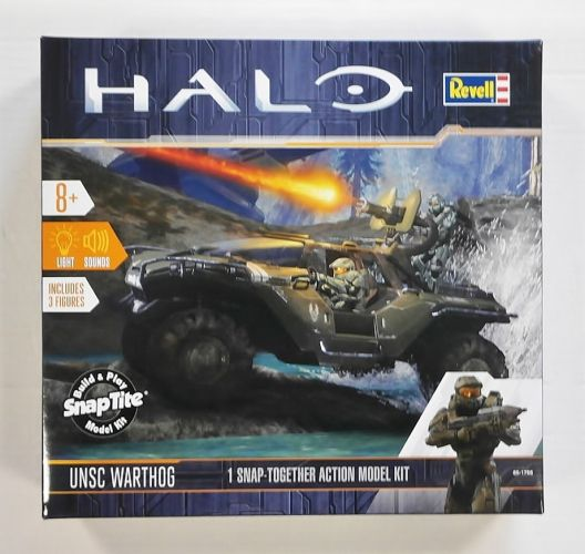REVELL  85-1766 HALO UNSC WARTHOG
